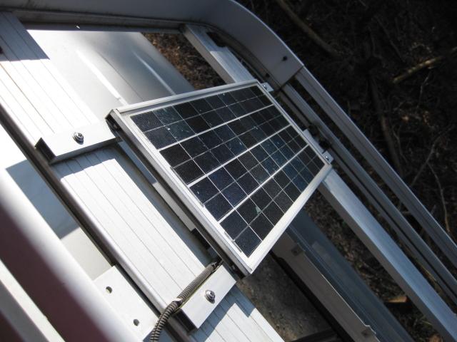 軽キャンの太陽光発電