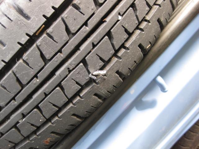 またタイヤがパンクして、思ったこと