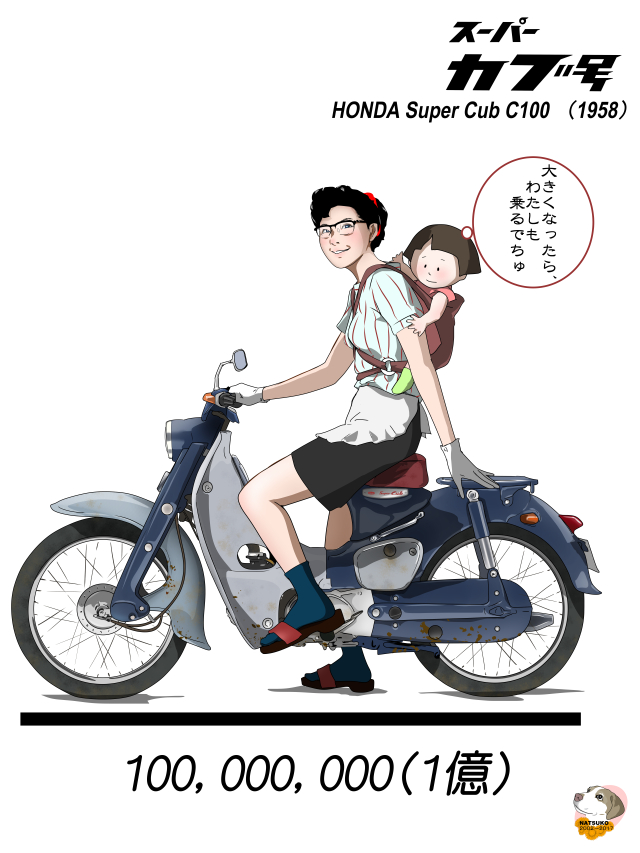 昭和の原付バイクーホンダ・スーパーカブ
