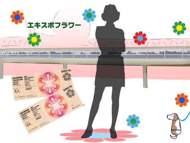 EXPO'70大阪万博Vol.4-動く歩道とエキスポフラワー