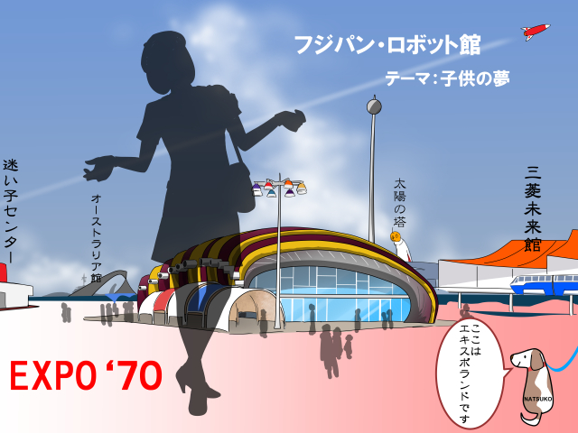 EXPO'70大阪万博Vol.8-フジパン・ロボット館