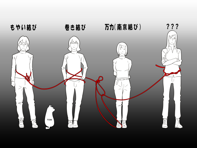 たかがロープと侮ることなかれ③ー結び方